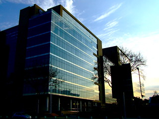 New Standard Bank building, Rosebank, Johannesburg.