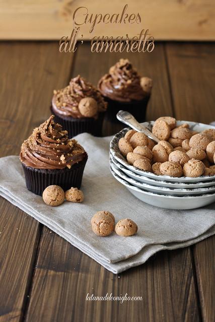 Cupcakes all'amaretto