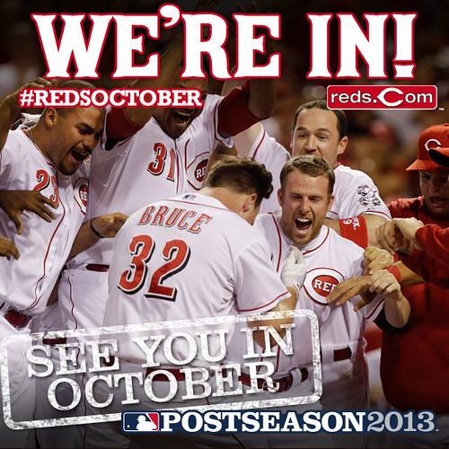 Reds clinch!