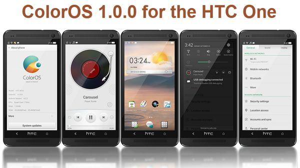 ColorOS для HTC One
