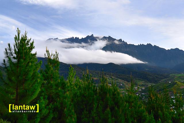 Mt. Kinabalu from Kundasang