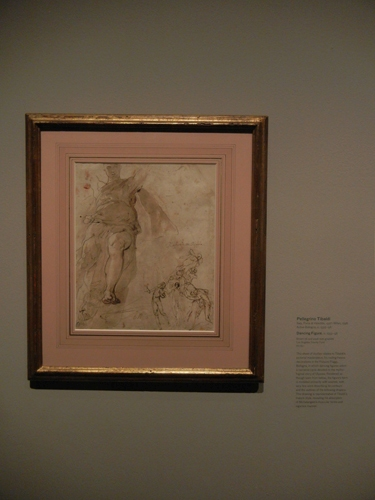 DSCN8030 _ Dancing Figure and Other Studies (verso), c. 1555-1558, Pellegrino Tibaldi (1527-1596) LACMA
