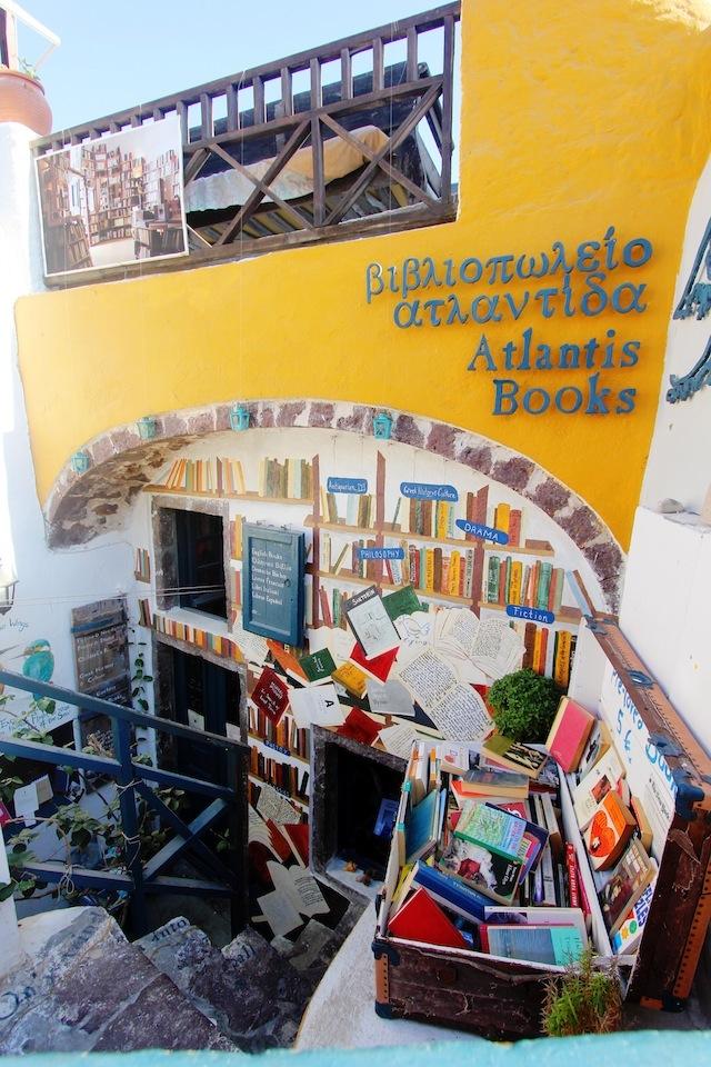 Atlantis Books Oia Santorini