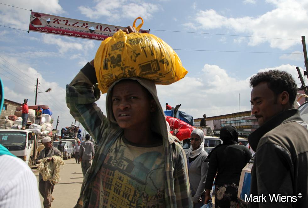 Streets of Addis Mercato