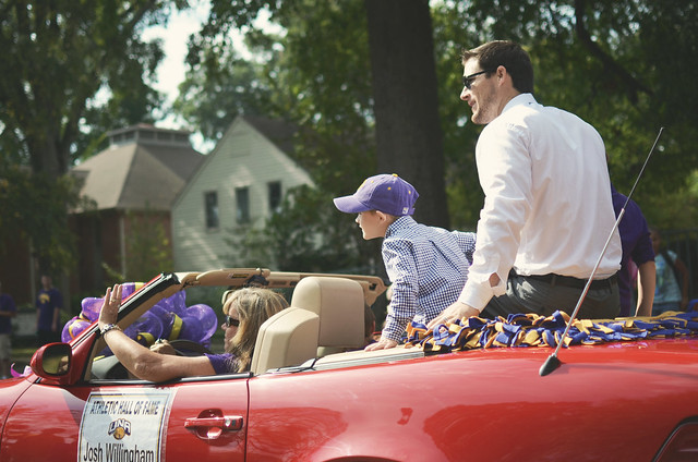 UNA Homecoming Parade
