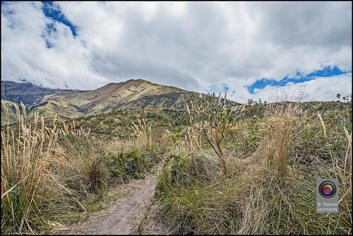 ecuador südamerika lagunacuicohca