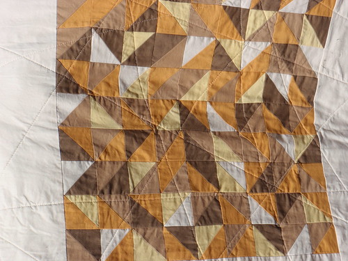 Quilting on Toffee Shards