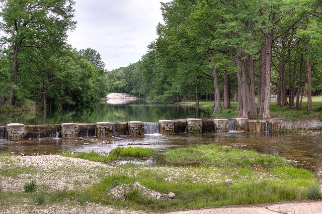 Dam @ Hunt Crossing on the Guadalupe River