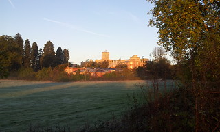 Royal Earlswood Park at sunrise