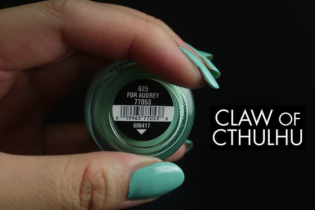China Glaze For Audrey Swatch