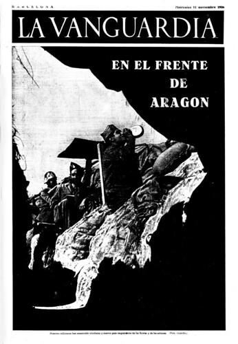 La Vanguardia 11 de noviembre de 1936, foto: Agustí Centelles. by Octavi Centelles