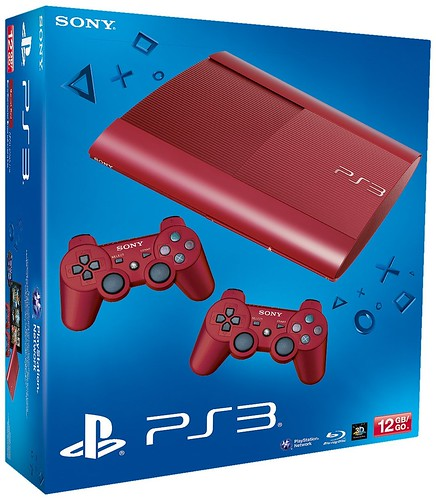 PS3 SuperSlim Red