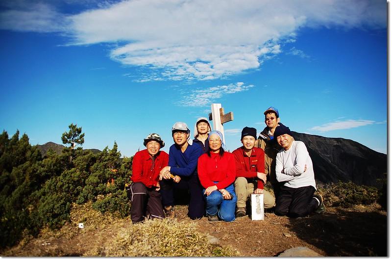 馬利亞文路山(Elev. 3483 m)