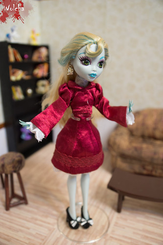 Monster High Lagoona Blue 1st wave ooak