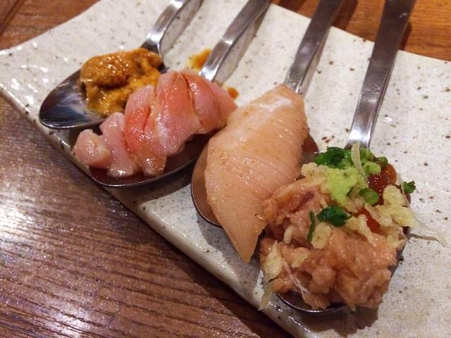Sushi, Omakase @ Teppei