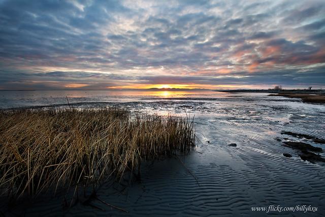 Sunset at Iona Beach
