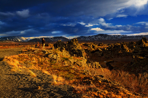 travel autumn sky storm clouds canon lava iceland solitude sigma stormy 7d solitary myvatn goldenhour oneperson traveler dimmuborgir 1750mm northiceland lavatowers