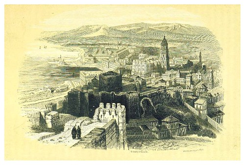 014-Malaga-La Spagna, opera storica, artistica, pittoresca e monumentale..1850-51- British Library