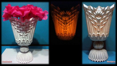 Folding Design Projects - Flower Vase 2 All models