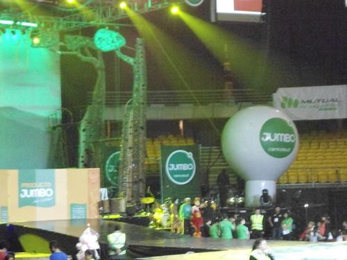 Circo JUMBO, Movistar Arena, Parque O'Higgins, Santiago, Chile 2013 - www.meEncantaViajar.com by javierdoren