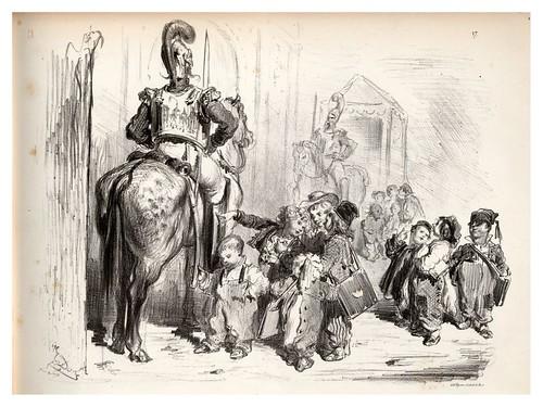 016-Sapos-La Ménagerie parisienne, par Gustave Doré -1854- Fuente gallica.bnf.fr-BNF