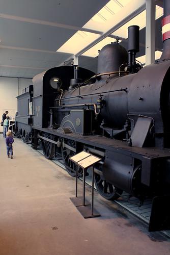 oude trein - odense
