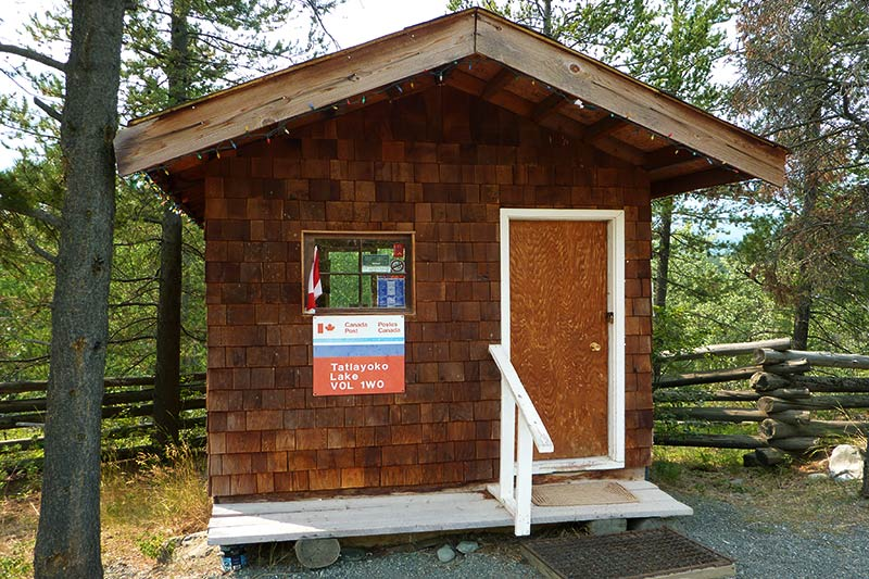 Tatlayoko Lake Post Office, Chilcotin, British Columbia