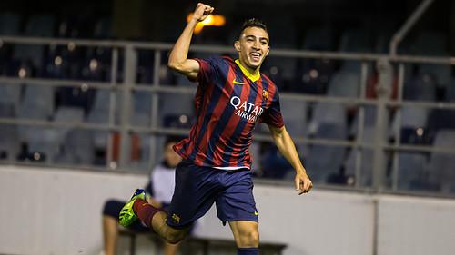 !Francisco Javier Fernandez¡ Juvenil A - Atlético Baleares: Munir marca la diferencia (2-0)