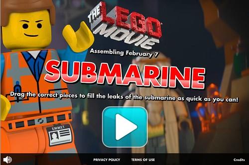 The LEGO Movie Submarine