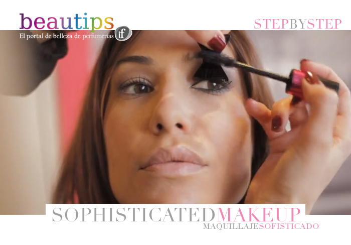 beautips barbara crespo sophisticated make-up makeup maquillaje sofisticado maquillaje beauty video report beautips.com bourjois