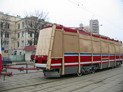 Moscow tram LT-5 delivery from factory_20030411_116