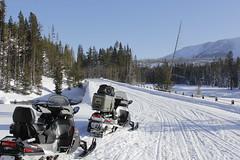 racing(0.0), footwear(0.0), nordic skiing(0.0), auto racing(1.0), winter sport(1.0), winter(1.0), vehicle(1.0), piste(1.0), sports(1.0), snow(1.0), motorsport(1.0), snowmobile(1.0), land vehicle(1.0),