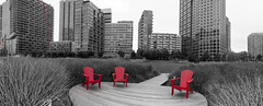 LIC Red Chairs
