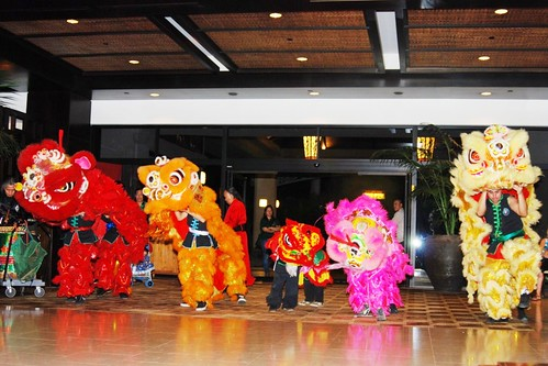 Lion Dance Performance At The Westin Ka'anapali Ocean Resort Villas
