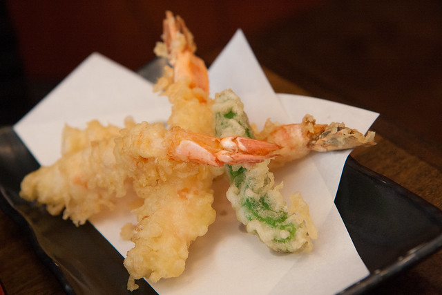 Shrimp tempura, Sobakoh