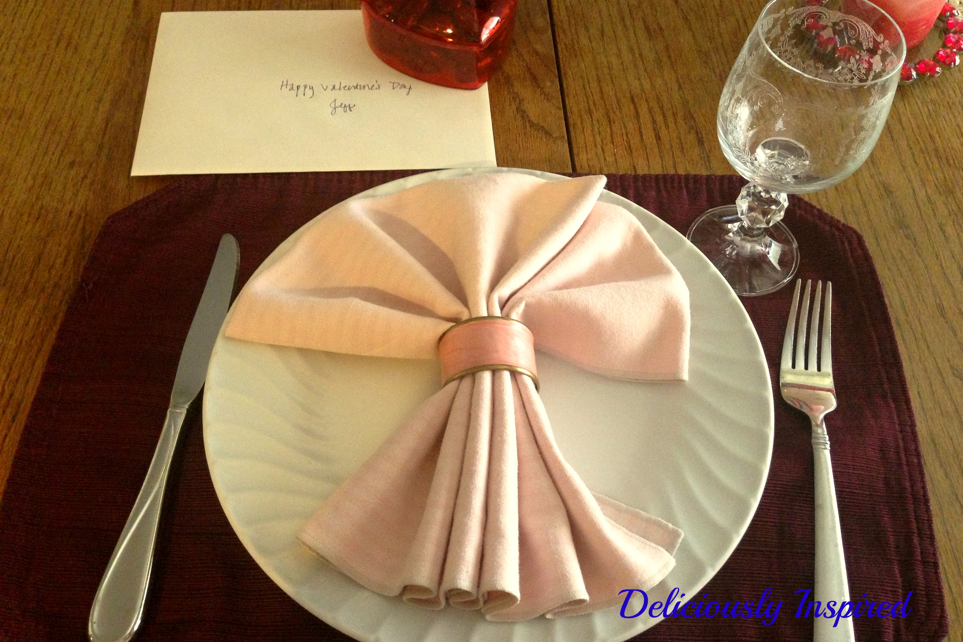 Valentine's Day - Place Setting