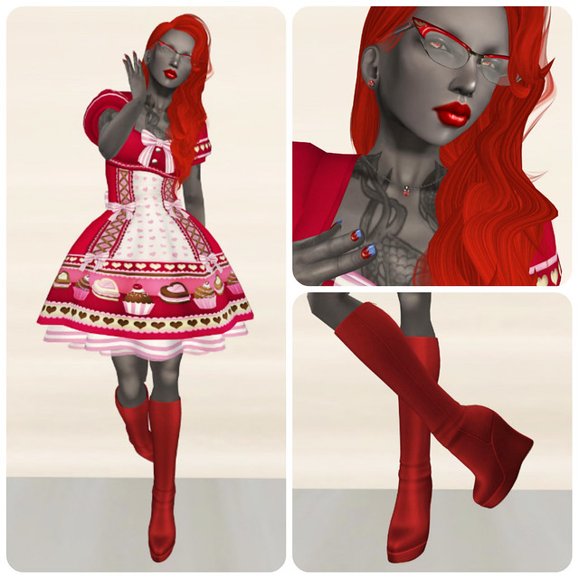 Kat's LE Valentine dress (2)