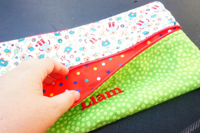 Pencil Case - front zipper
