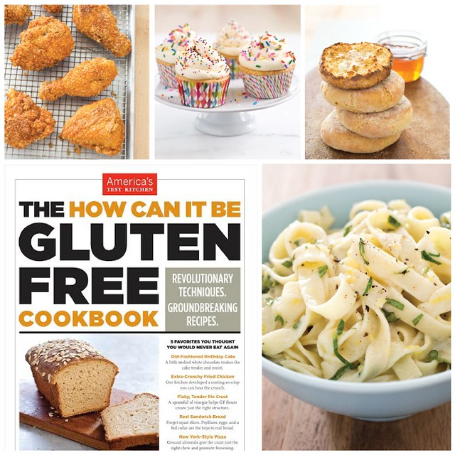 America's Test Kitchen - How Can It Be Gluten-free Cookbook Giveaway