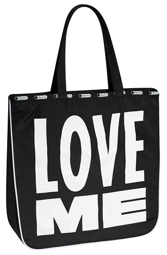 LeZip Tote in Bowery (Back)