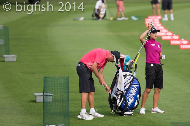 Some ladies golfers - Practice Round - Day 2 (some pics) 12761354265_9140e33812_z