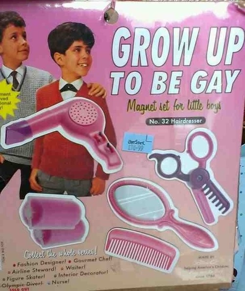 grow up gay