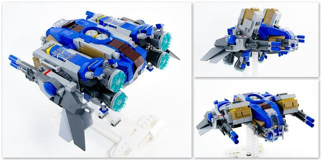 LEGO Spaceship - Vorfechter: Perspectives