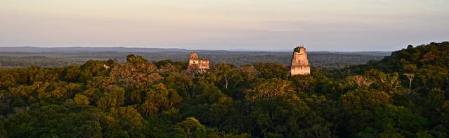 Tikal Guatemala sunset tour