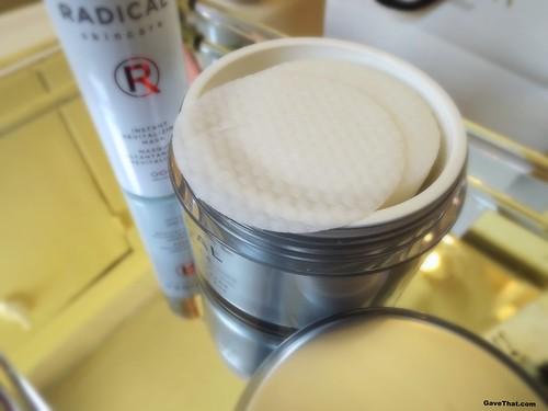 Radical Skincare Exfoliating Pads