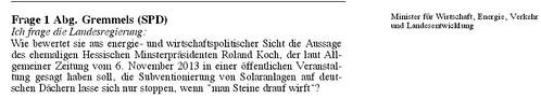 2014 03 11 Anfrage hess Landtag wegen Roland Koch