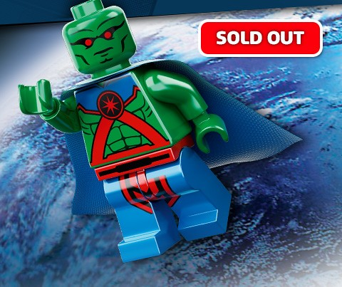 Martian Manhunter Sold Out