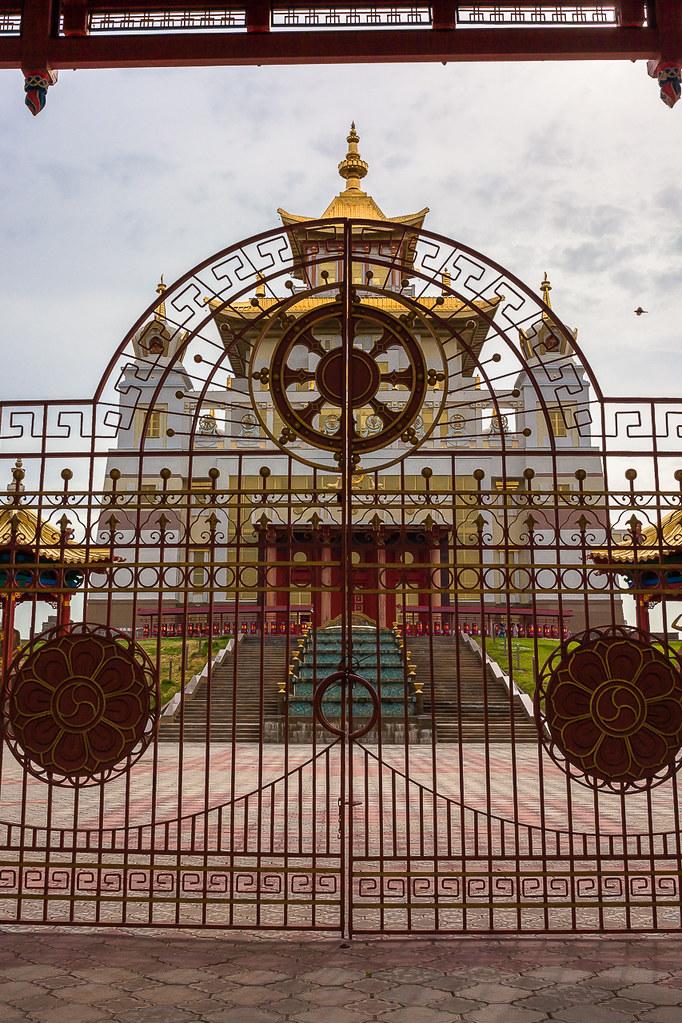 Russia. 13.06.2009 Elista. The Golden Abode of the Buddha Shakyamuni-005