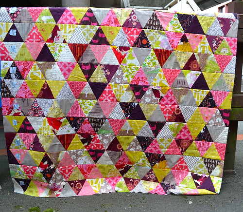 Autumn with a twist quilt top
