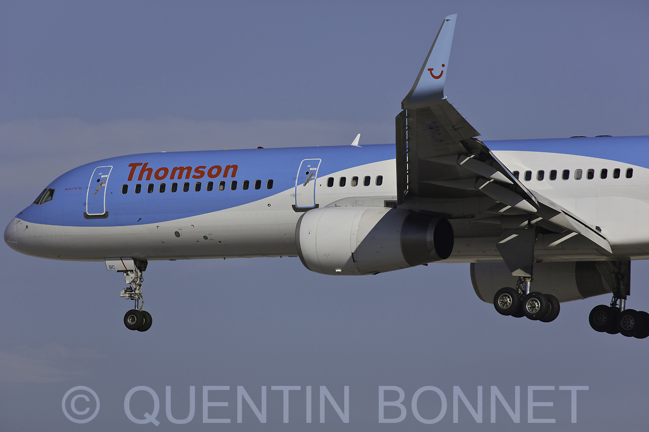 Thomson Airways Boeing 757-28A (WL) G-OOBC